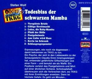 141/Todesbiss der schwarzen Mamba