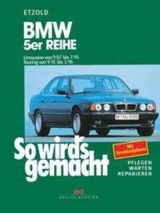 So wird's gemacht. BMW 5er Reihe E34 ab September 87