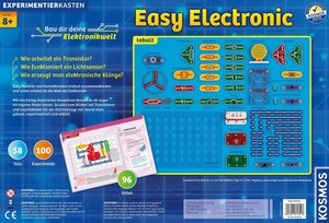 Kosmos 613013 - Experimentierkasten: easy electronic