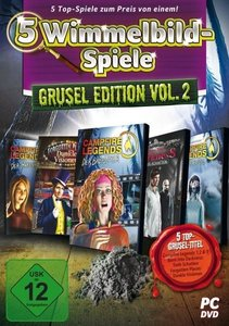 5 Wimmelbild Spiele - Grusel-Edition II. Windows Vista/7/8