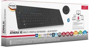 ATHERA XE Bluetooth Tastatur - Schwarz