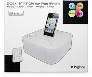 Dock Station ST01 für iPod/iPhone - weiss