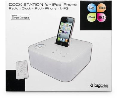 Dock Station ST01 für iPod/iPhone - weiss - zum Schließen ins Bild klicken