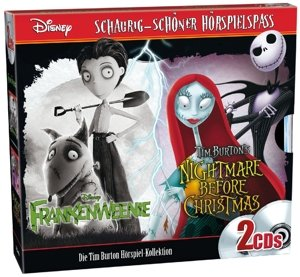 Frankenweenie+Nightmare before X-MAS 2er CD-Box