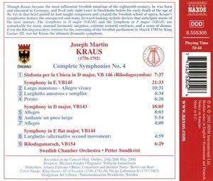 Komplette Symphonien Vol.4