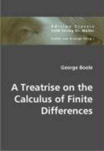 A Treatrise on the Calculus of Finite Differences
