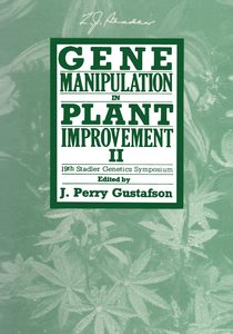 Gene Manipulation in Plant Improvement II