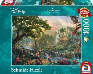 Schmidt Spiele Puzzle Thomas Kinkade Disney Das Dschungelbuch 10