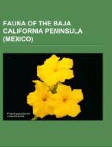 Fauna of the Baja California Peninsula (Mexico)