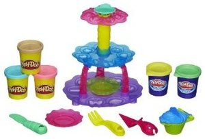 Hasbro A5144E24 - Play-Doh Törtchen Turm