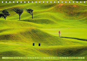 Golf: Golfparadiese der Welt (Tischkalender 2016 DIN A5 quer)