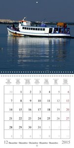 Algarve Sotavento (Wall Calendar 2015 300 × 300 mm Square)