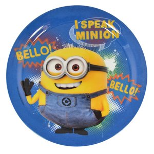Joy Toy 72003 - Minions Melamin-Set, 3-teilig
