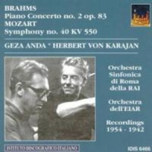 Klavierkonzert 2 op.83/+Mozart: Sinfonie 40