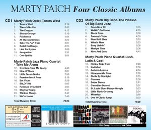 Marty Paich-Four Classic Albums