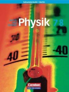 Physik für die Sekundarstufe 1. 7./8. Schuljahr. Schülerbuch. Be