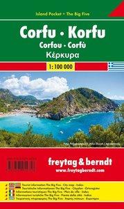 Korfu 1 : 100 000