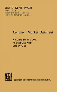 Common Market Antitrust