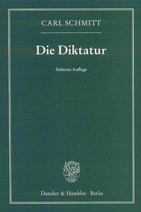 Schmitt, C: Diktatur