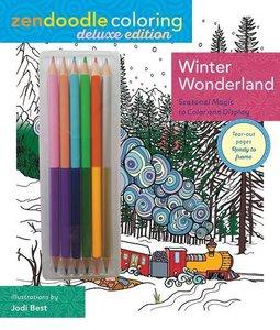 Zendoodle Coloring: Winter Wonderland