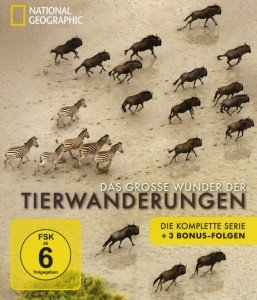 National Geographic:Wunder derTierwanderungen Box
