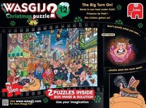 Jumbo 19130 - Wasgij Christmas, 2x1000 Teile Puzzle