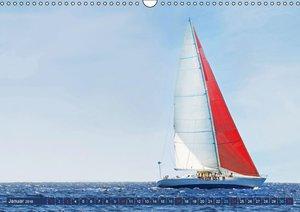 Segeln: Der Sonne entgegen (Wandkalender 2016 DIN A3 quer)