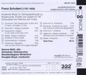 Schauspielmusik zu Rosamunde D 797