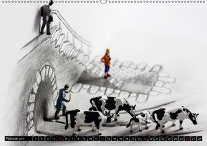 PAPERminis ? Ein Mixed-Media-Figuren-Projekt mit Stift und Papie
