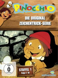 Pinocchio TV-Serien-Box 1,Flg 1-18