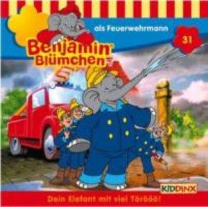 Benjamin Blümchen 031 als Feuerwehrmann