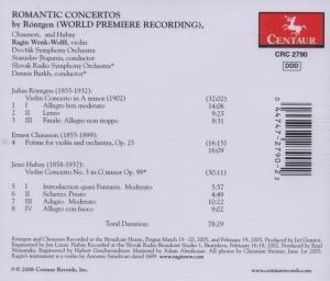 Romantische Violinkonzerte