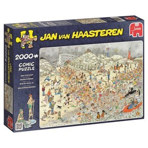Jan van Haasteren Neujahrsschwimmen - 2000 Teile