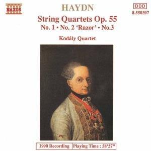 Streichquartette op.55,1-3