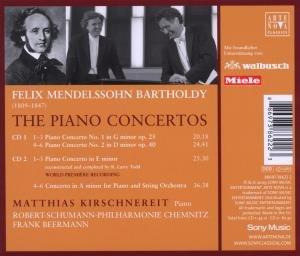 Sämtliche Klavierkonzerte (GA)