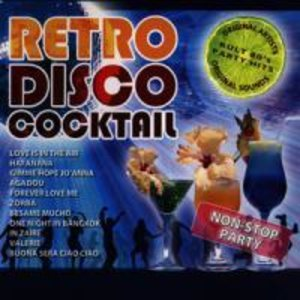 Retro Disco Cocktail