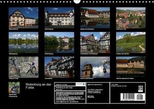 Rotenburg an der Fulda (Wandkalender 2017 DIN A3 quer)