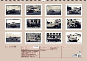 Cuba Cars 2016 (Wandkalender 2016 DIN A2 quer)