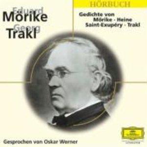 Gedichte von Mörike, Heine, Saint-Exupery, Trakl. CD
