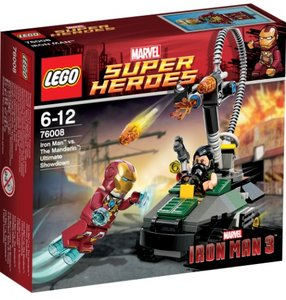 Lego Super Heroes 76008 - Iron Man vs. The Mandarin: Letzte Ents