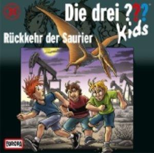 Die drei ??? Kids 31: Rückkehr der Saurier (Fragezeichen)