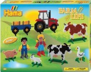 Hama 3125 - Geschenkpackung Bauernhof, 2x Stiftplatte Nr. 234+28