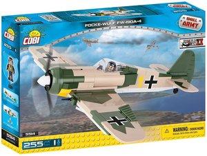 COBI 5514 - Focke Wulf FW190 A-4, Small Army, beige/grün