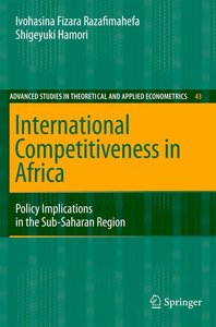 International Competitiveness in Africa