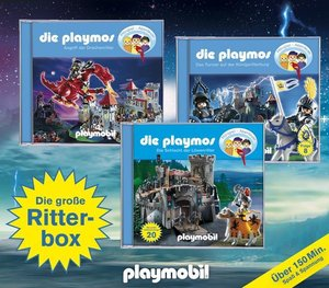 Rost, S: Playmos Die große Ritter-Box/3 CD