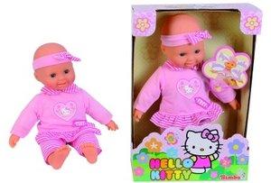 Simba 105147594 - Laura, Hello Kitty Baby-Puppe, Erste Worte, 30