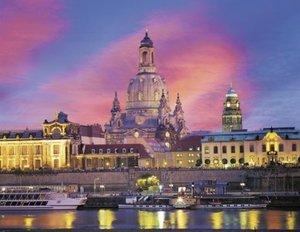 Frauenkirche Dresden. Puzzle 1000 Teile
