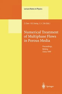 Numerical Treatment of Multiphase Flows in Porous Media