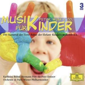 MUSIK FÜR KINDER - PETER,WOLF & CO.(3CD)