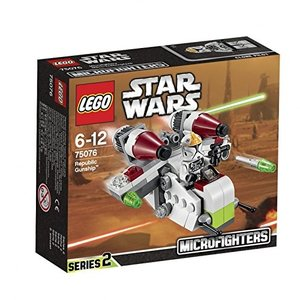LEGO Star Wars 75076 - Republic Gunship